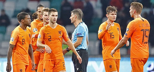 Foto: 'Oranje wacht opmerkelijk dilemma bij EK-plaatsing'