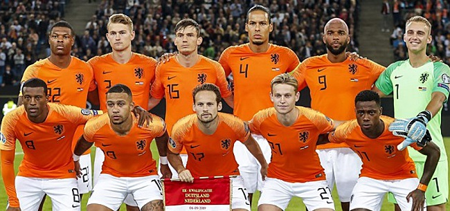 Foto: De opstelling van Oranje: Koeman wijzigt, basisdebutant tegen Estland