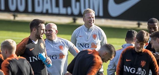Foto: Oranje werkt met volledig fitte selectie richting Frankrijk en Duitsland