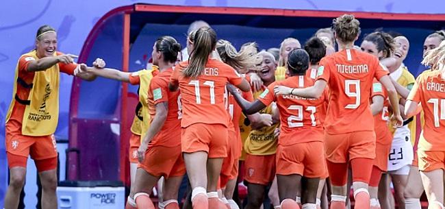 Foto: Leeuwinnen stijgen naar historische derde plek op FIFA-ranglijst