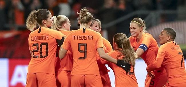 Foto: De 11 namen van de Oranje-vrouwen: Van Es op tijd fit