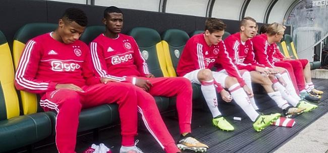 Foto: Ajax maakt duidelijk: miljoenenaankoop nu al op een zijspoor