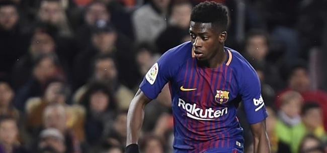 Foto: VIDEO: Dembélé opent op heerlijke wijze de score voor FC Barcelona