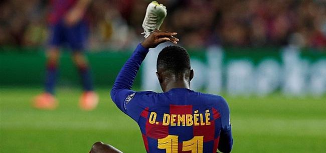 Foto: 'FC Barcelona is helemaal klaar met Dembélé'