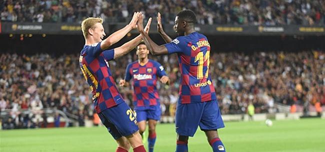 Foto: 'FC Barcelona wijst voorstel Dembélé keihard af'