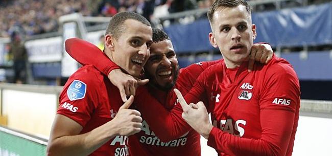Foto: AZ-smaakmaker maakt Feyenoorders gek met reactie
