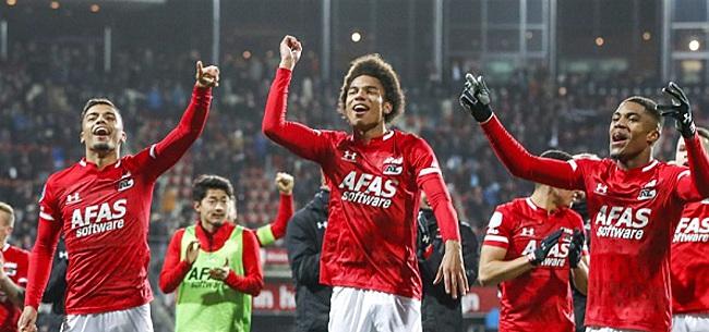 Foto: 'AZ houdt hand op de knip in strijd met Ajax'