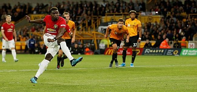 Foto: Gemiste strafschop Pogba kost Manchester United zege