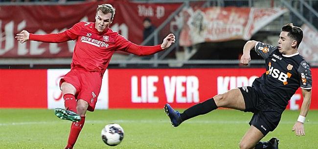 Foto: FC Twente en NEC halen uit, Smeets doet Jong Ajax pijn