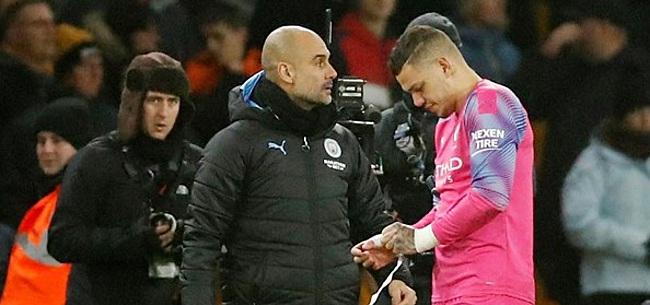 Foto: Merkwaardig incident tijdens Wolverhampton-Manchester City