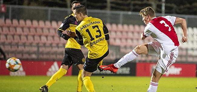 Foto: Jong Ajax speelt met Roda JC, Go Ahead wint in Utrecht