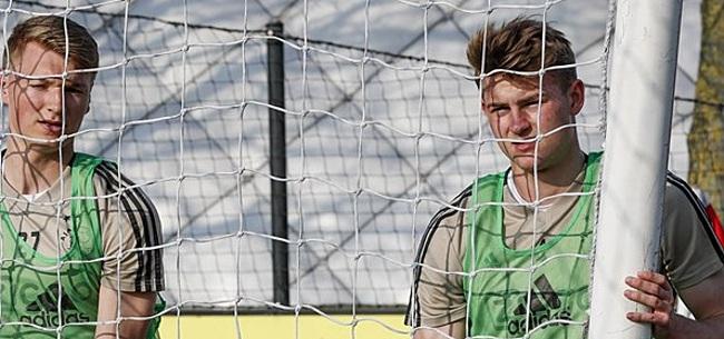 Foto: 'Juventus wil De Ligt niet naar Ajax-trainingskamp laten gaan'