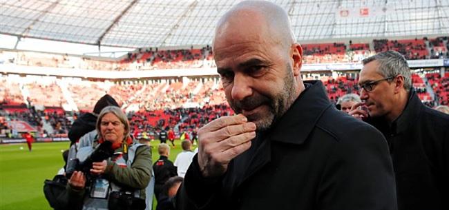Foto: Leverkusen geeft 'Bosz-masterclass' en veegt de vloer aan met Weghorst en co