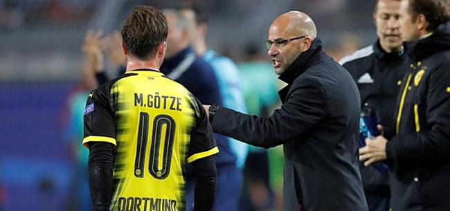 Foto: Löw betuigt spijt: 'Het heeft Mario duidelijk geen goed gedaan'
