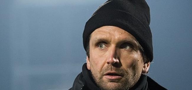 Foto: NEC-trainer Hyballa afgemaakt: