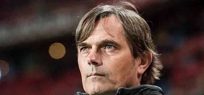 Foto: Evaluatie bij PSV op komst: 'Daarbij kijk ik ook naar mezelf'