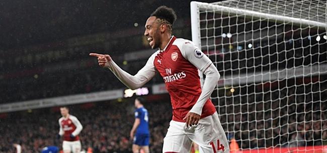 Foto: Arsenal doet door defensief geklungel goals van Aubameyang teniet