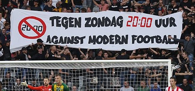Foto: 'Ajax-fans zien zondagavond en play-offs om titel niet zitten'