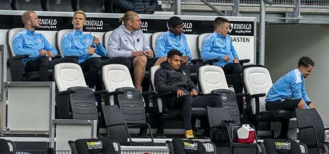 Foto: 'Malen en nog een PSV'er wilden zélf niet spelen vanmiddag'