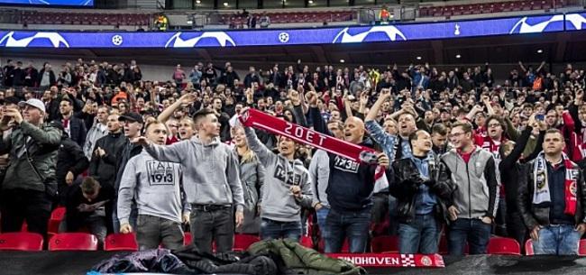 Foto: PSV-aanhang reageert op flirt: