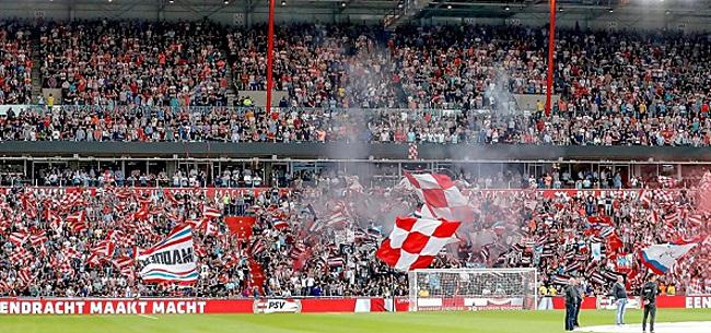 Foto: Supportersvereniging PSV vindt uitlatingen Rutte 'lekker duidelijk'