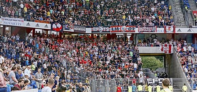 Foto: PSV-fans omarmen Europa League weer: 'Groot contrast met toen'