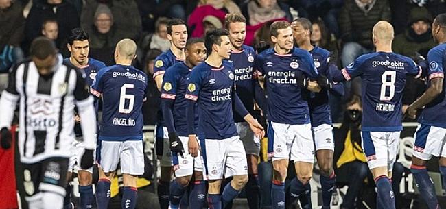 Foto: PSV boekt oefenzege in Doha op Club Brugge