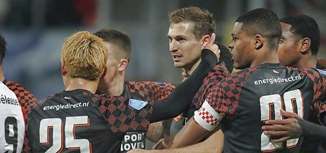 Foto: Nederland gaat los op FC Emmen - PSV: