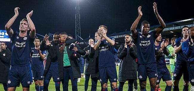 Foto: PSV haalt opnieuw uit naar KNVB vanwege Ajax