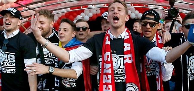 Foto: PSV-spits De Jong teleurgesteld door vertrek Brands