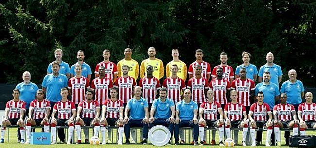 Foto: Opvallend gezicht op PSV-training: gelijk erg geliefd