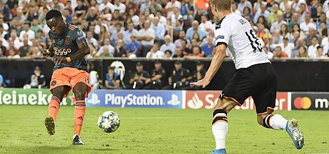 Foto: UEFA-straf voor Ajax wekt onbegrip:
