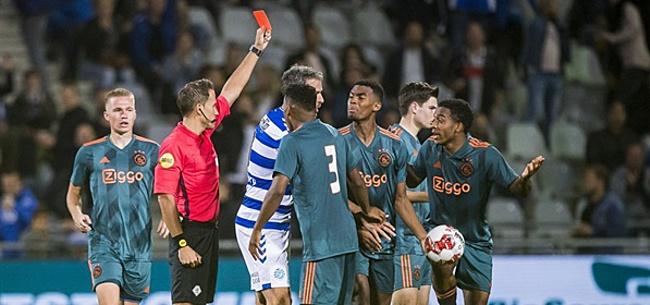 Foto: Rode kaart stelt De Graafschap in staat comeback te maken tegen Jong Ajax