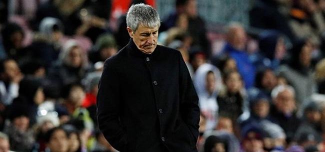 Foto: Spaanse media kritisch op Setién: 'Had van Valverde kunnen komen'
