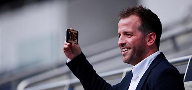 Foto: Van der Vaart baalt: 'Had hem graag bij PSV gezien'