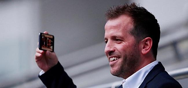 Foto: Van der Vaart voorziet 'uitzonderlijke' Ajacied van transferadvies