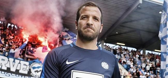 Foto: Van der Vaart over PSV'er: