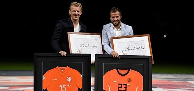 Foto: Van der Vaart en Gullit komen met VAR-tips voor KNVB