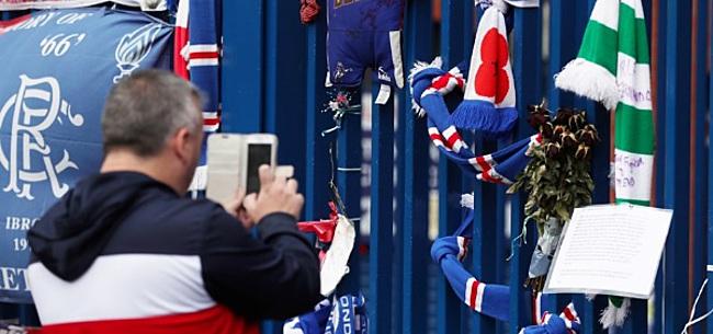 Foto: Rangers, Feyenoord en AZ staan stil bij overlijden Fernando Ricksen