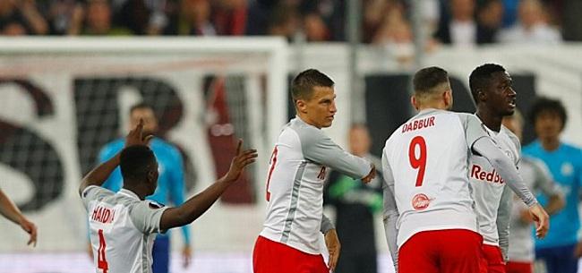 Foto: Marseille dankzij omstreden goal naar Europa League-finale