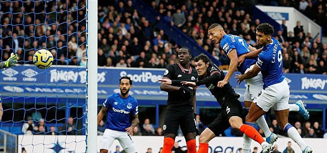 Foto: Schokeffect Everton vloert Chelsea, Real Madrid maakt geen fout