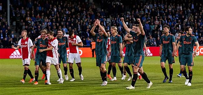 Foto: Ajax-moment gaat viral in het buitenland: 'Wow'