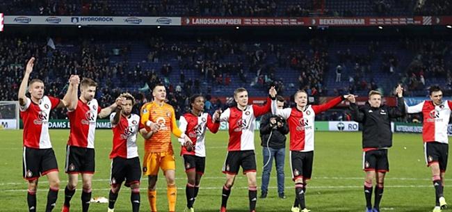 Foto: 'Feyenoord strikt nieuwe hoofdsponsor: 6 miljoen euro per jaar'