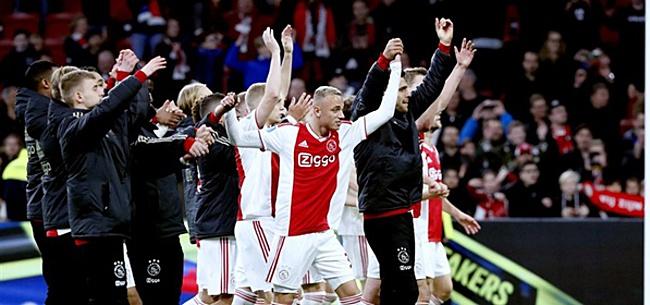 Foto: RB Salzburg dwingt Ajax tot belangrijke missie in kwartfinales