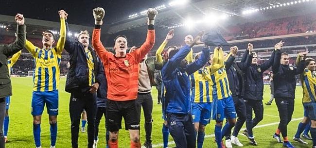 Foto: RKC Waalwijk houdt hoop op promotie na zege op zwak NEC