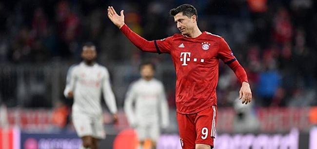 Foto: Lewandowski baalt van instelling Bayern: