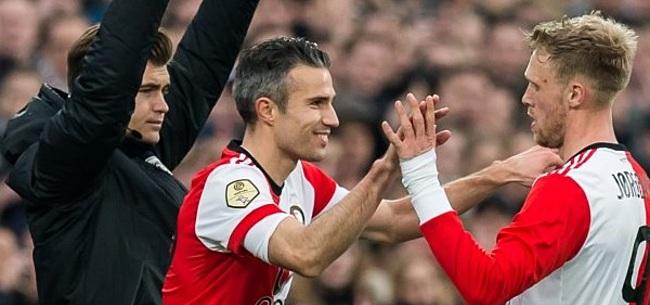 Foto: Feyenoord creëert rookgordijn: