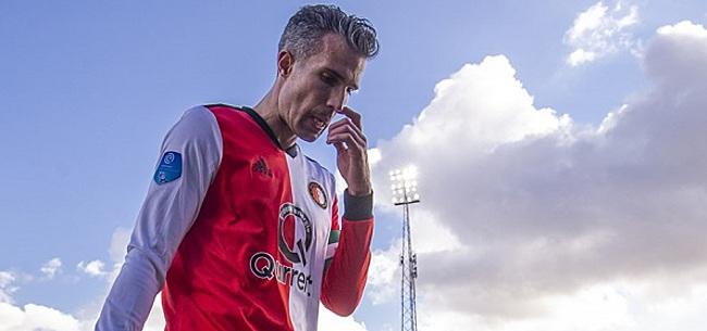 Foto: Handvol Feyenoorders blijft binnen tijdens training