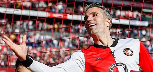 Foto: Van Persie schept duidelijkheid over Feyenoord: