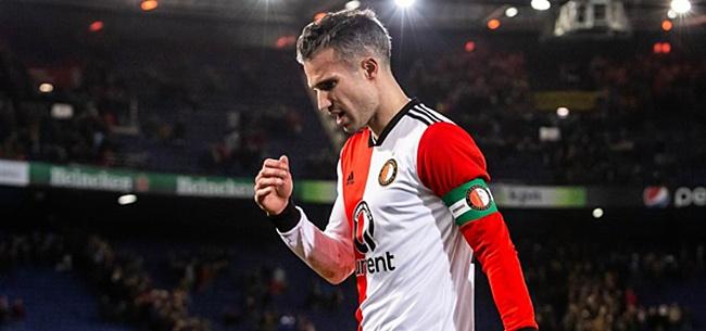 Foto: 'Van Persie zéér teleurgesteld in Feyenoord-selectie'